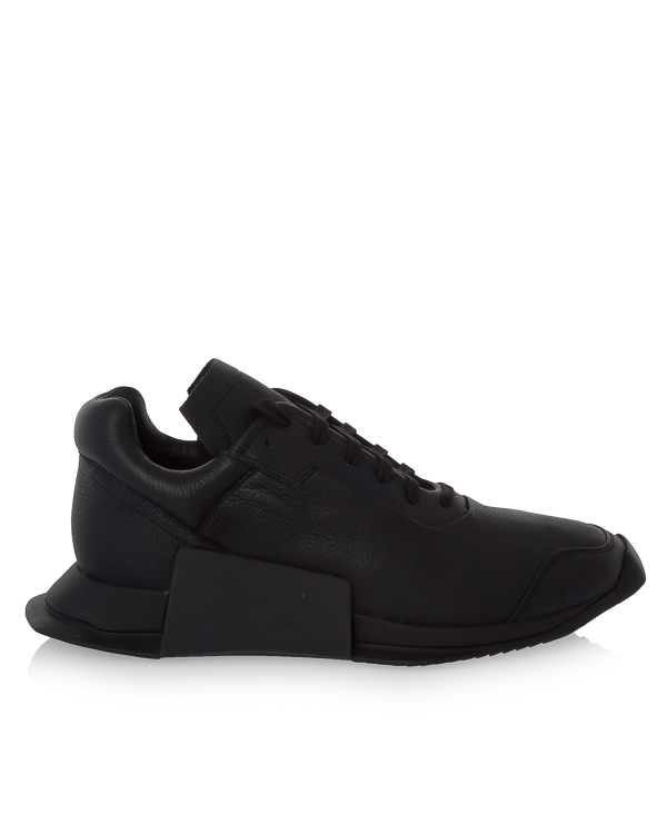 кроссовки Rick Owens X Adidas Level Runner из кожи  артикул RM17F8820 марки RICK OWENS купить за 35700 руб.