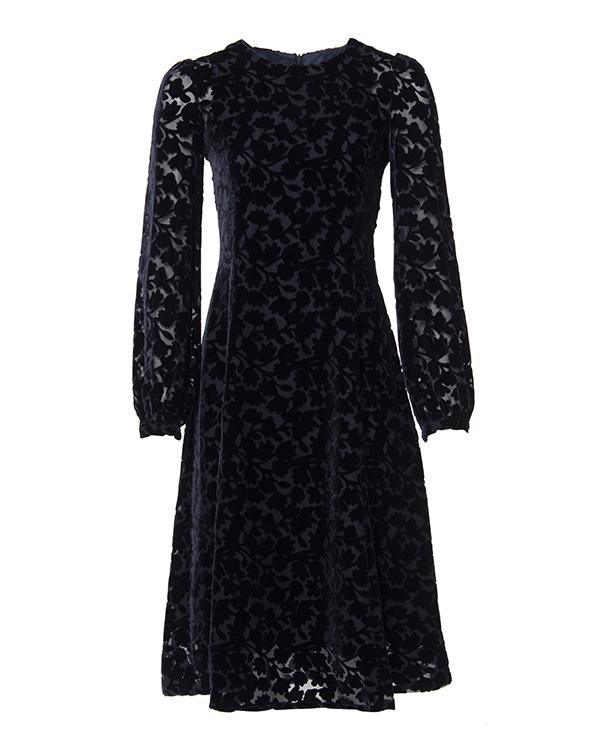 платье из плотной ткани с узором из бархата артикул ROBYN721048 марки P.A.R.O.S.H. купить за 26300 руб.