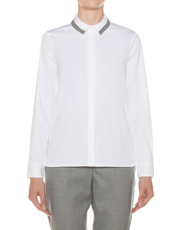 рубашка классического кроя артикул S06606 марки Peserico купить за 20700 руб.