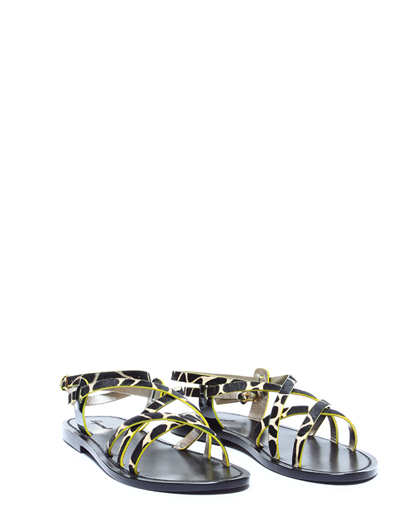 женская сандалии DSQUARED, сезон: лето 2015. Купить за 9500 руб. | Фото 2