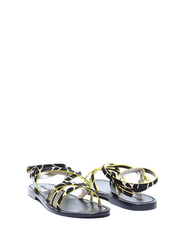 женская сандалии DSQUARED, сезон: лето 2015. Купить за 9500 руб. | Фото 3