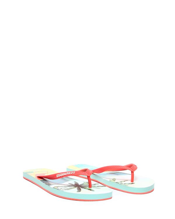 женская сланцы DSQUARED, сезон: лето 2015. Купить за 4400 руб. | Фото 2