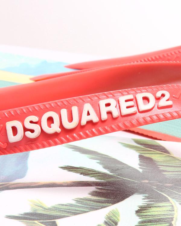 женская сланцы DSQUARED2, сезон: лето 2015. Купить за 3100 руб. | Фото $i