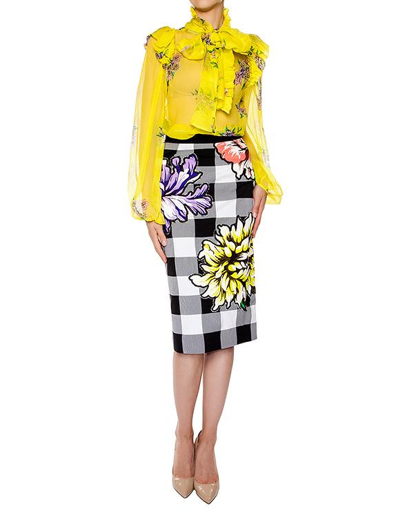 женская юбка Marcobologna, сезон: лето 2016. Купить за 29100 руб. | Фото 3