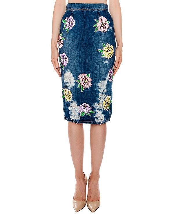 женская юбка Marcobologna, сезон: лето 2016. Купить за 47600 руб. | Фото 1