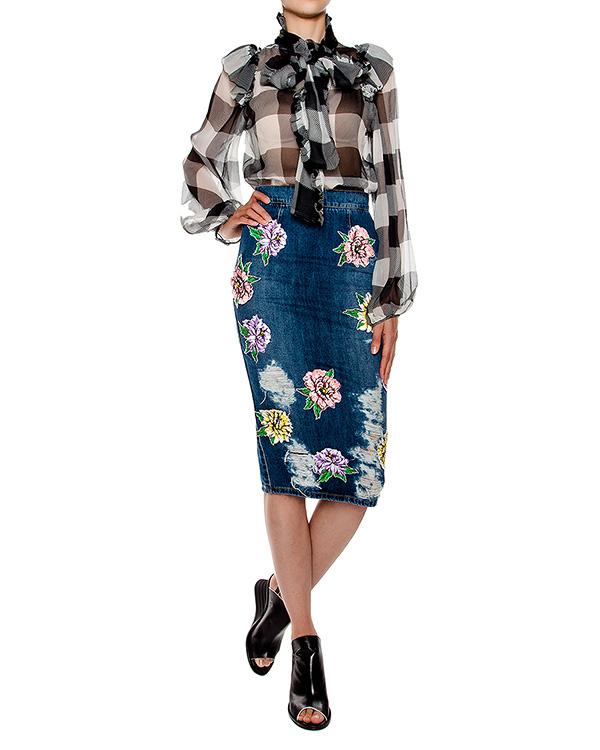 женская юбка Marcobologna, сезон: лето 2016. Купить за 47600 руб. | Фото 3