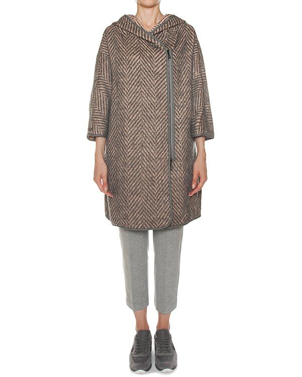 пальто из шерсти с добавлением мохера артикул S23121 марки Peserico купить за 67100 руб.