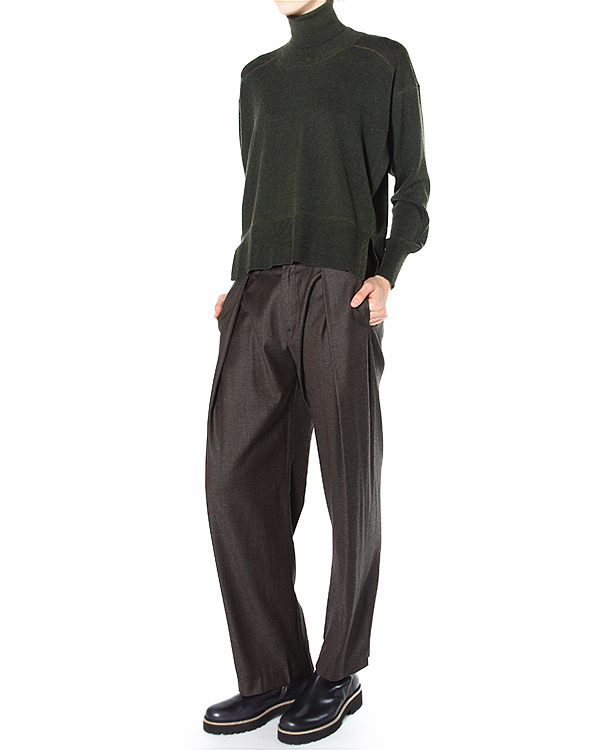 женская брюки MM6 Martin Margiela, сезон: зима 2014/15. Купить за 12500 руб. | Фото 3