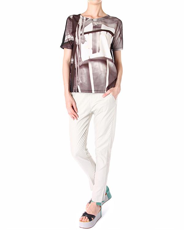 женская футболка MM6 Martin Margiela, сезон: лето 2014. Купить за 9300 руб. | Фото 3