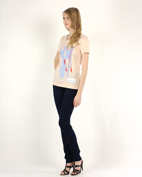 женская футболка VIKTOR & ROLF, сезон: лето 2012. Купить за 4700 руб. | Фото $i
