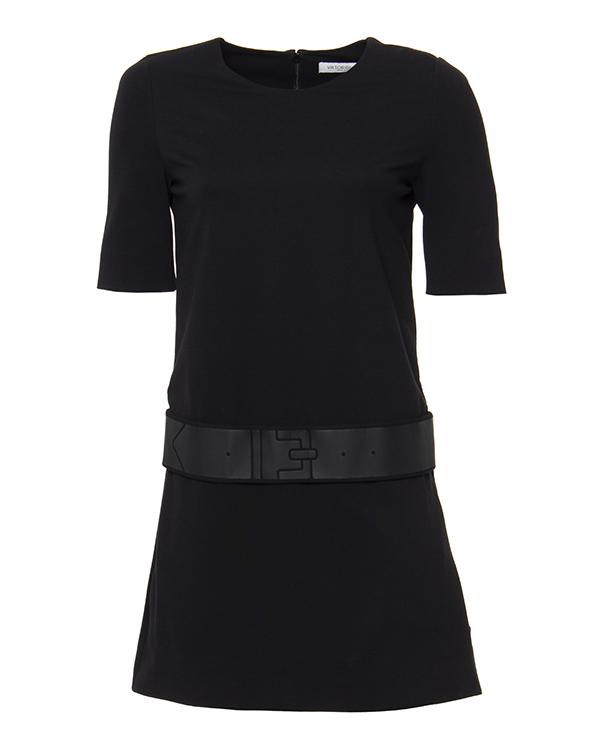 платье с коротким рукавом и акцентом на линии бедер артикул S45CT0369 марки VIKTOR & ROLF купить за 41800 руб.