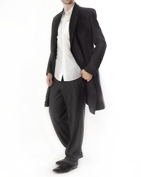 мужская брюки Maison Martin Margiela, сезон: зима 2013/14. Купить за 12200 руб. | Фото $i