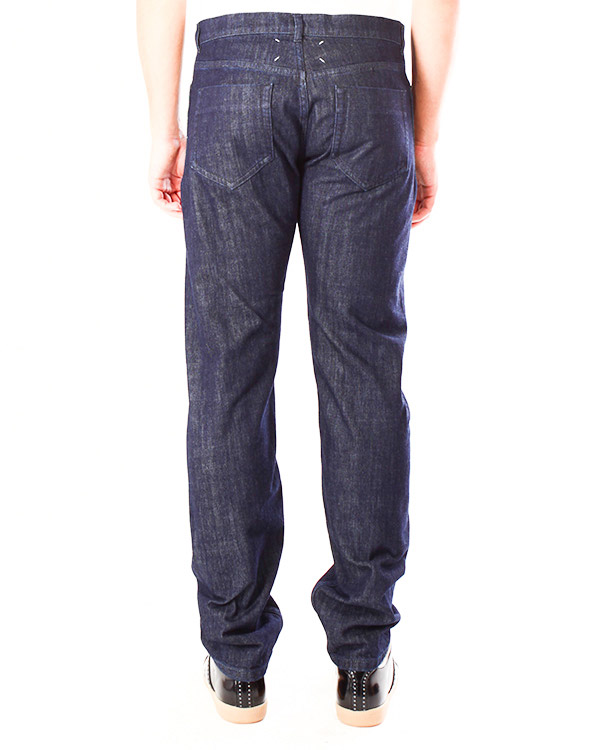 мужская джинсы Maison Martin Margiela, сезон: зима 2013/14. Купить за 7900 руб. | Фото $i
