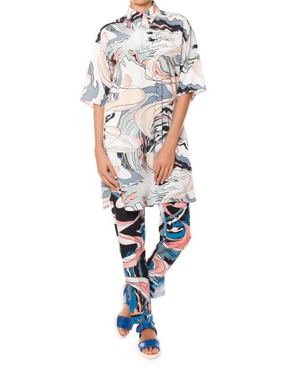 женская брюки MM6 Martin Margiela, сезон: лето 2015. Купить за 10600 руб. | Фото 3