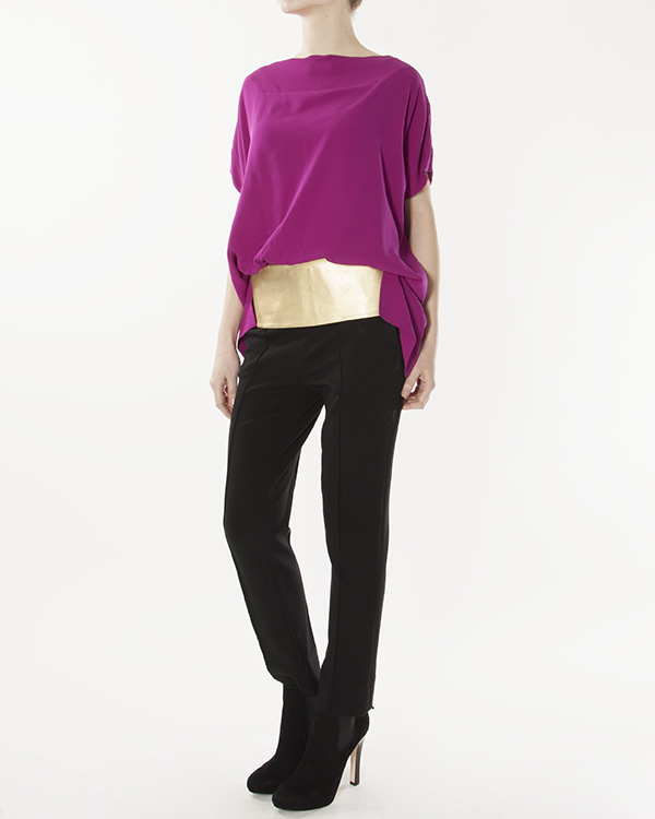 женская брюки DIANE von FURSTENBERG, сезон: зима 2012/13. Купить за 7200 руб. | Фото 3
