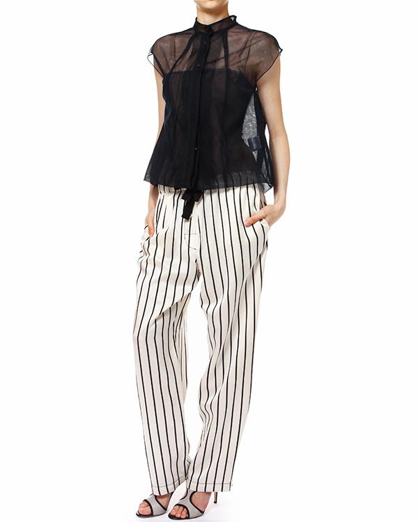 женская брюки Hache, сезон: лето 2014. Купить за 10700 руб. | Фото 3