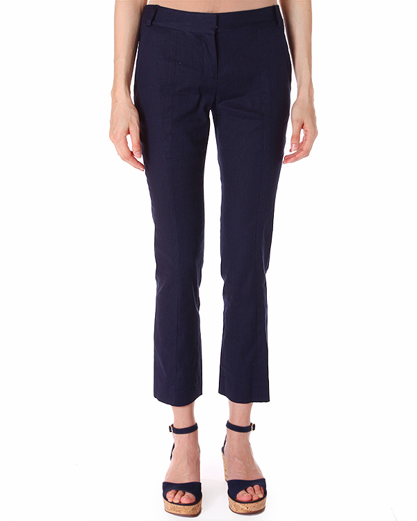 брюки CARISSA с прорезными карманами длинною семь восьмых артикул S6391238 марки DIANE von FURSTENBERG купить за 7500 руб.