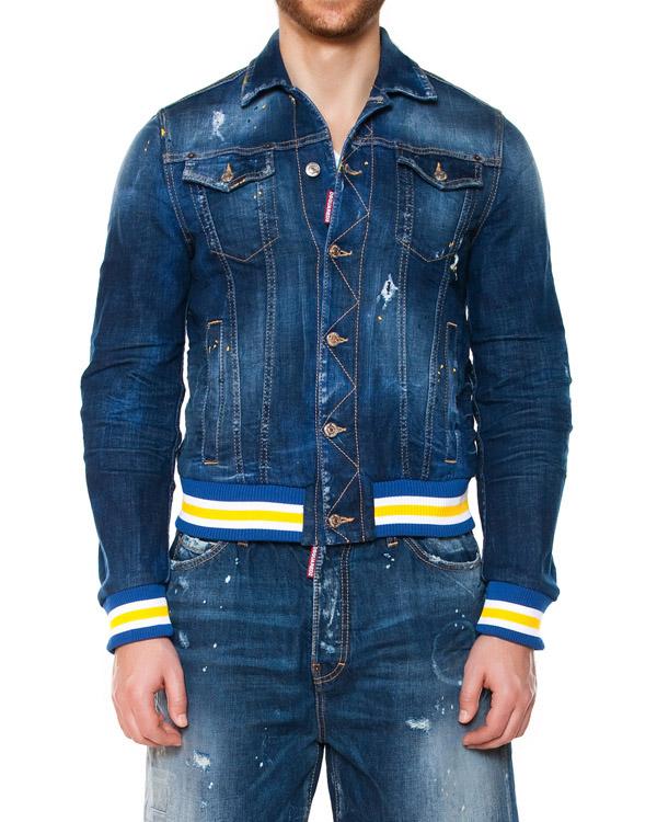 мужская куртка DSQUARED, сезон: лето 2015. Купить за 28600 руб. | Фото 1