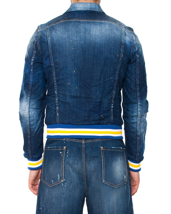мужская куртка DSQUARED, сезон: лето 2015. Купить за 28600 руб. | Фото 2