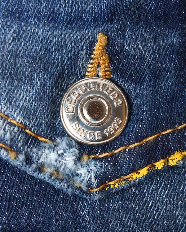 мужская куртка DSQUARED, сезон: лето 2015. Купить за 28600 руб. | Фото 4