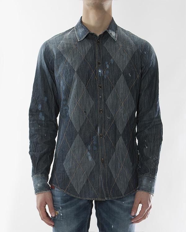 мужская рубашка DSQUARED, сезон: зима 2012/13. Купить за 10500 руб. | Фото 1
