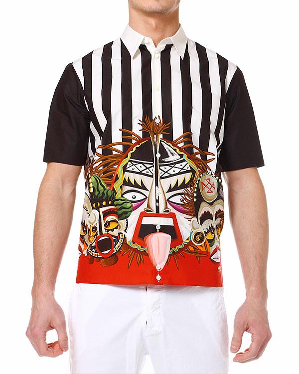 мужская рубашка DSQUARED, сезон: лето 2014. Купить за 14100 руб. | Фото 1