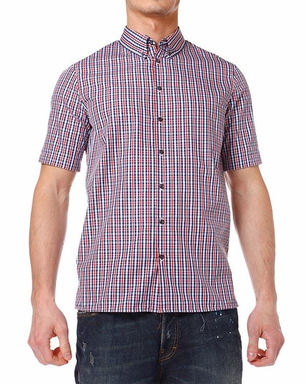 мужская рубашка DSQUARED2, сезон: лето 2014. Купить за 7500 руб. | Фото 1