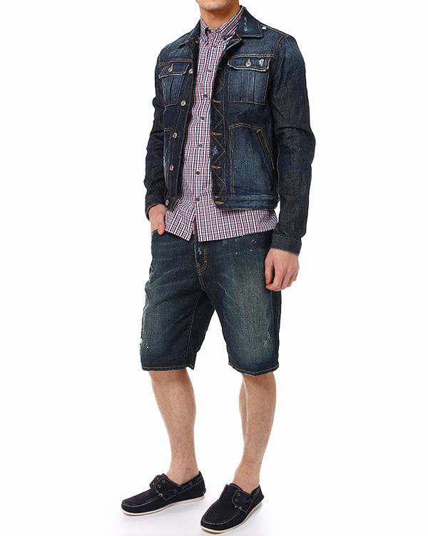 мужская рубашка DSQUARED2, сезон: лето 2014. Купить за 7500 руб. | Фото 3