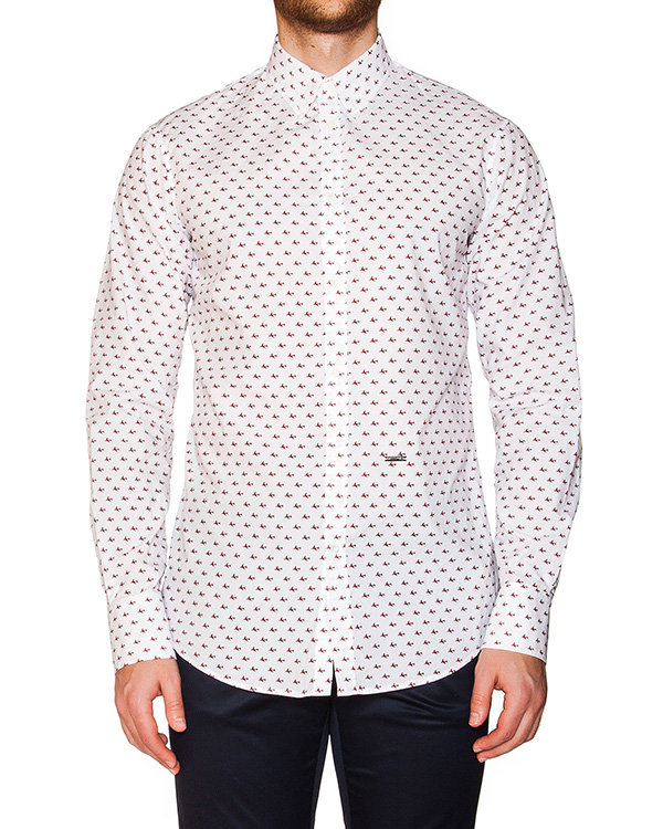 мужская рубашка DSQUARED, сезон: лето 2016. Купить за 17600 руб. | Фото 1