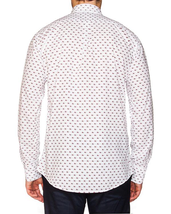 мужская рубашка DSQUARED, сезон: лето 2016. Купить за 17600 руб. | Фото 2