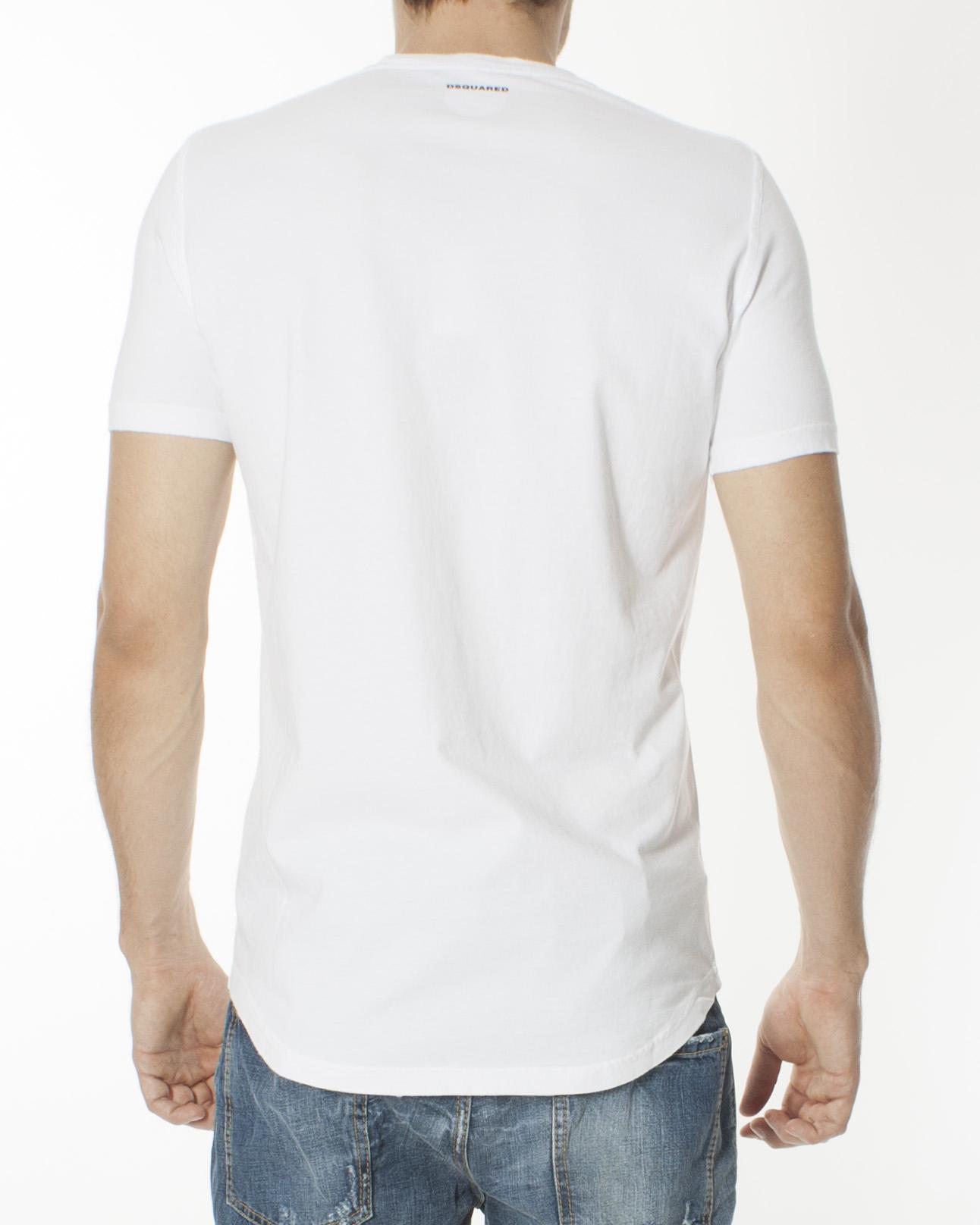 мужская футболка DSQUARED, сезон: зима 2012/13. Купить за 4000 руб. | Фото $i