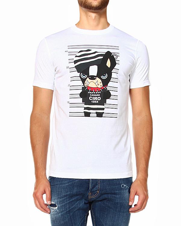 мужская футболка DSQUARED, сезон: зима 2014/15. Купить за 6500 руб. | Фото $i