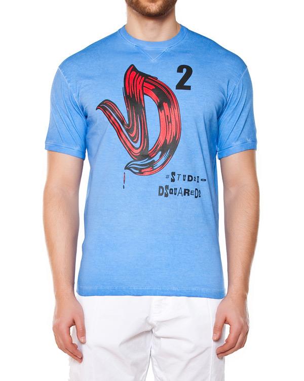 мужская футболка DSQUARED, сезон: лето 2015. Купить за 6600 руб. | Фото 1