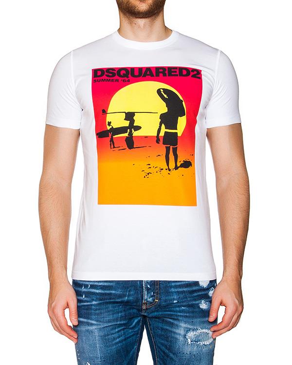 мужская футболка DSQUARED, сезон: лето 2016. Купить за 6700 руб. | Фото 1