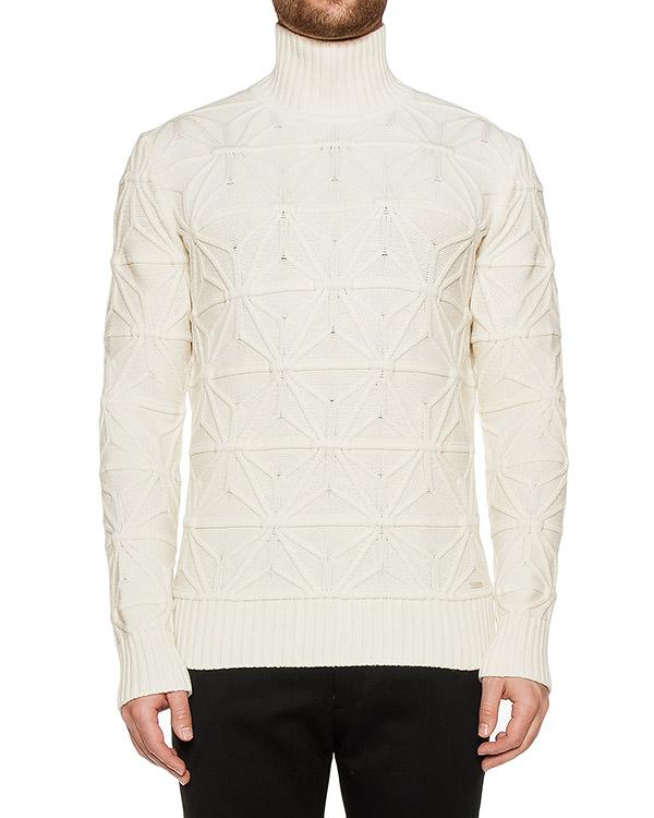 свитер из мягкой шерсти с фактурным узором артикул S71HA0669 марки DSQUARED2 купить за 33900 руб.