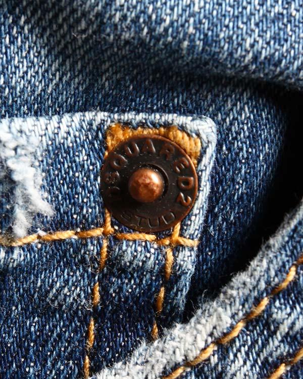 мужская джинсы DSQUARED, сезон: зима 2014/15. Купить за 12400 руб. | Фото 4