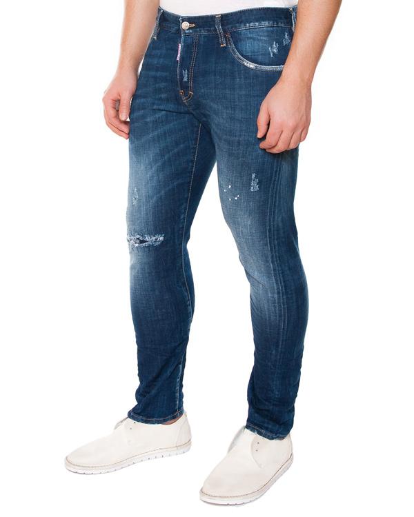 мужская джинсы DSQUARED, сезон: лето 2015. Купить за 13200 руб. | Фото 1