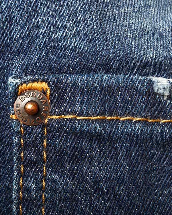 мужская джинсы DSQUARED, сезон: лето 2015. Купить за 13200 руб. | Фото 4