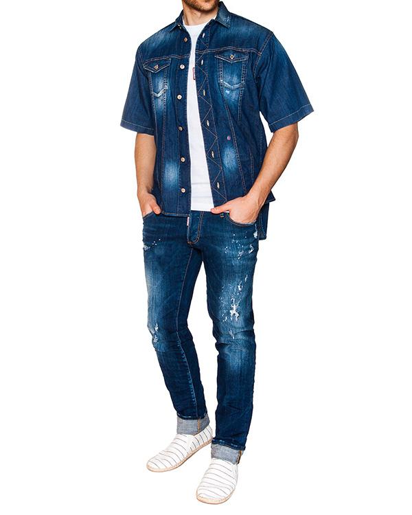 мужская джинсы DSQUARED, сезон: лето 2016. Купить за 22100 руб. | Фото 3