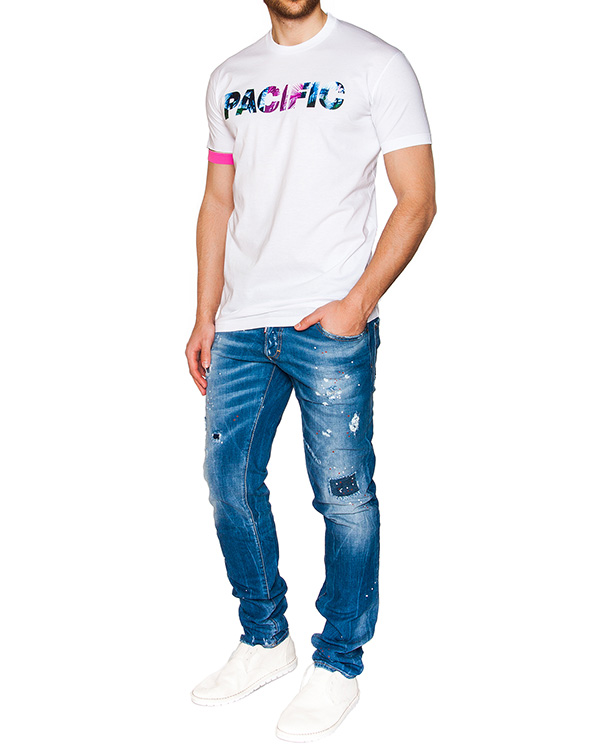 мужская джинсы DSQUARED2, сезон: лето 2016. Купить за 26300 руб. | Фото 3