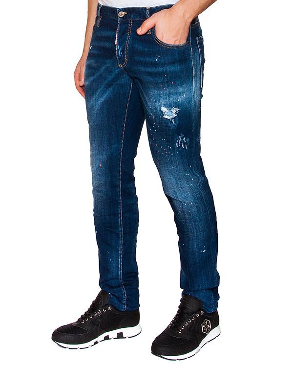 мужская джинсы DSQUARED, сезон: лето 2016. Купить за 25500 руб. | Фото 1