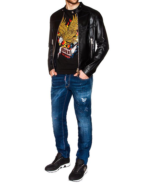 мужская джинсы DSQUARED, сезон: лето 2016. Купить за 25500 руб. | Фото 3