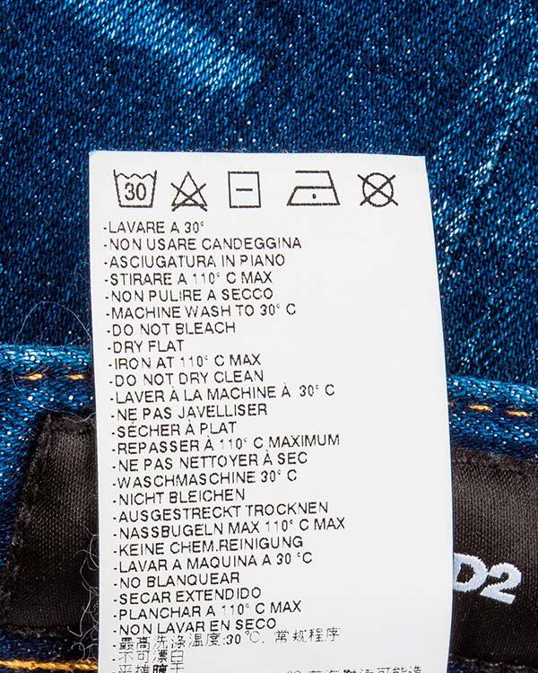 мужская джинсы DSQUARED, сезон: лето 2016. Купить за 25500 руб. | Фото 5