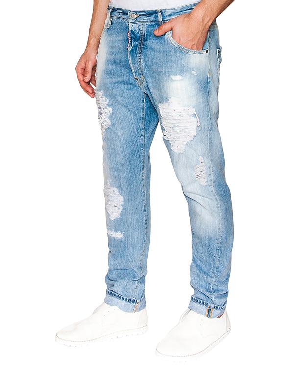 мужская джинсы DSQUARED, сезон: лето 2016. Купить за 27100 руб. | Фото 1