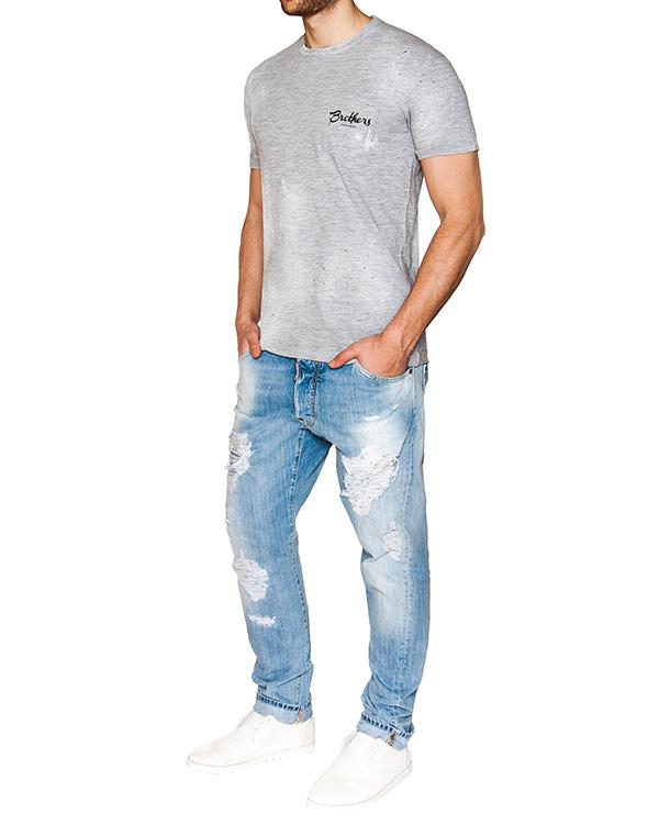 мужская джинсы DSQUARED, сезон: лето 2016. Купить за 27100 руб. | Фото 3