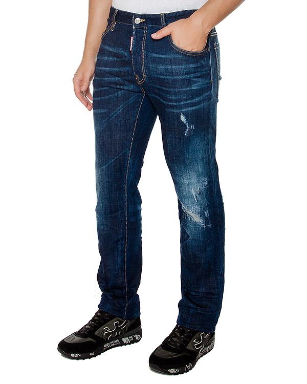 мужская джинсы DSQUARED, сезон: зима 2016/17. Купить за 21600 руб. | Фото 1
