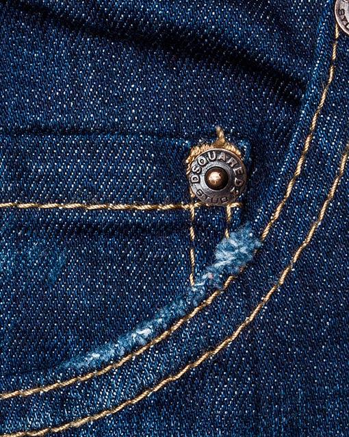 мужская джинсы DSQUARED, сезон: зима 2016/17. Купить за 21600 руб. | Фото 4