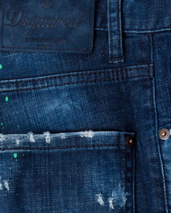 мужская джинсы DSQUARED2, сезон: зима 2017/18. Купить за 39600 руб. | Фото $i