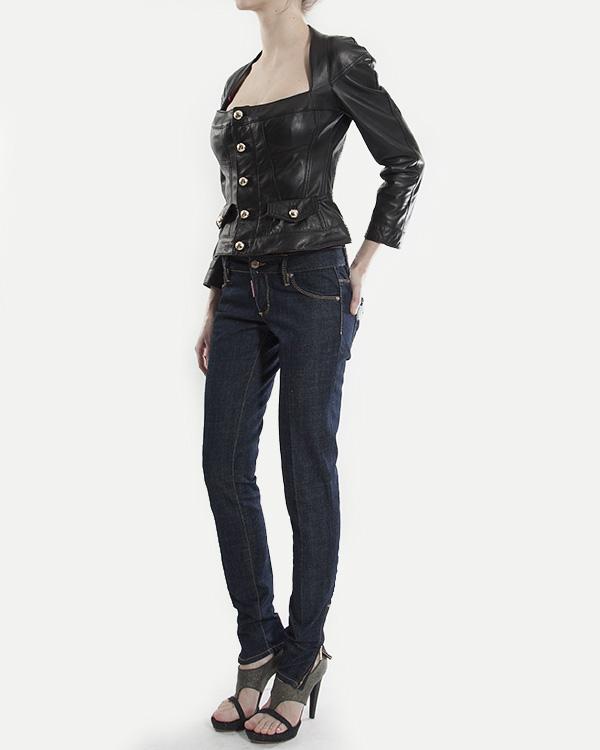 женская куртка DSQUARED, сезон: лето 2013. Купить за 37200 руб. | Фото 3