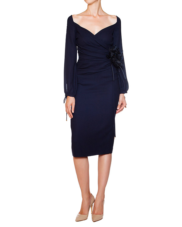 женская платье DSQUARED, сезон: зима 2013/14. Купить за 34300 руб. | Фото 2